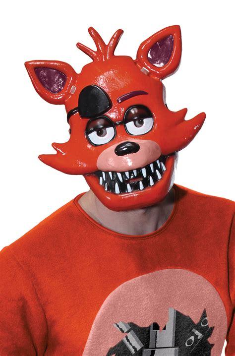 Brand New Five Nights At Freddy's Foxy Adult 12 Mask  Ebay