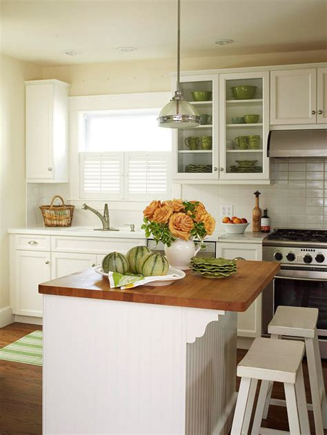 small kitchen with island design kitchen island designs we better homes gardens 8105