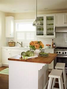 kitchen island designs we love better homes and gardens With home and garden kitchen designs