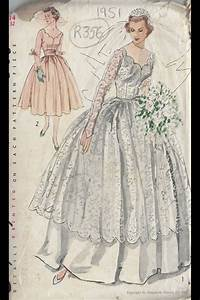1000 images about vintage patterns on pinterest vintage With vintage wedding dress patterns