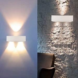 Appliques Murales Interieur : auralum haute qualit 3w 300lm led applique murale ~ Teatrodelosmanantiales.com Idées de Décoration