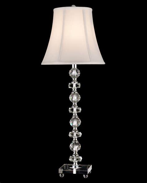 Dale Tiffany Gb11065 Crystal Simon Buffet Lamp