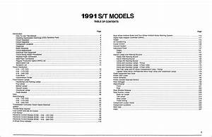 1989 Gmc S15 Pickup And Jimmy Wiring Diagram Manual Original