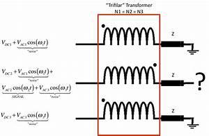 Trifilar Com U00fan Del Transformador En Modo Circuito