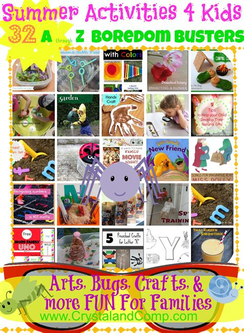 summer activities for boredom busters 867   boredom busters