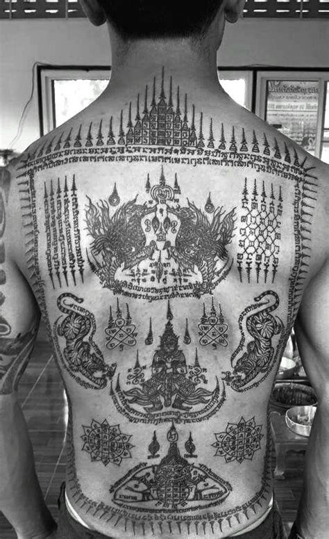 ล้อมยันต์ | Tattoo Thailand | Pinterest | Tattoo, Thai tattoo and Sak yant tattoo