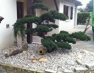 beautiful amenagement jardin exterieur avec galets With amenagement jardin avec galets