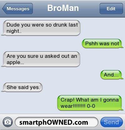 drunk autocorrect fails