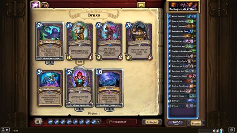 Hearthstone Deck Types Zoo by Decks Hearthstone Sussurros Dos Deuses Antigos Heroi X