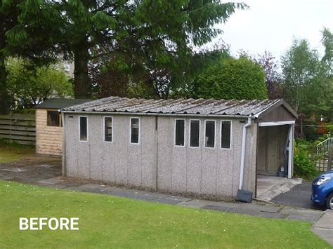 asbestos roof replacement welsh builds