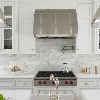 white kitchen cabinet white shaker kitchen cabinets with mini subway tile 4061