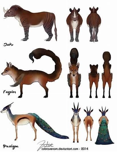 Mythical Creatures Deviantart Mythological Magical Cobravenom Commission