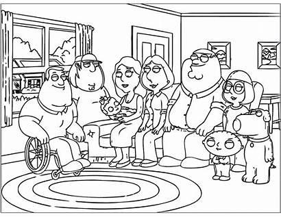 Coloring Guy Printable Familie Ausmalbilder Malvorlagen Chris