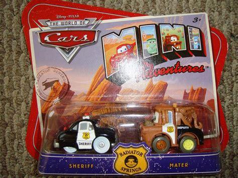 Cars Disney Sheriff And Mater Mini Adventures 63000