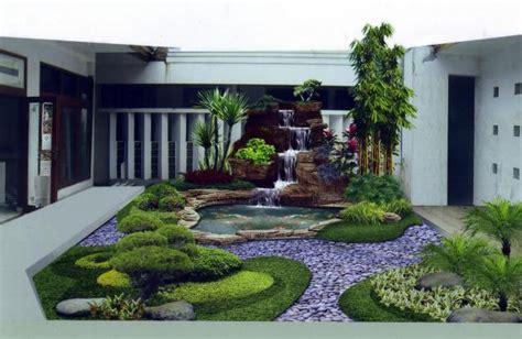 gambar model taman minimalis modern terbaru