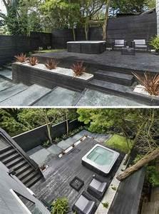 Terrasse Gestalten Modern : terrasse am hang praktisch und modern gestalten 10 tolle ideen ~ Watch28wear.com Haus und Dekorationen