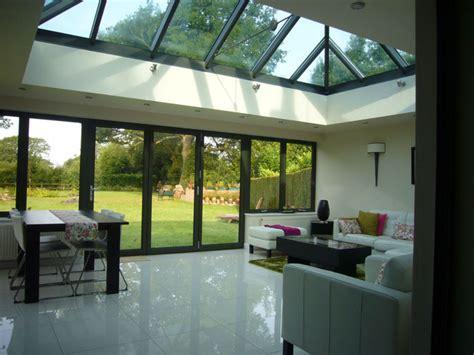 contemporary  traditional style aluminium rooflights