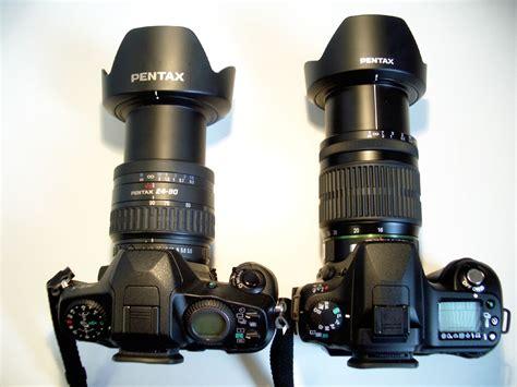 24-90mm versus 16-45mm BACK view
