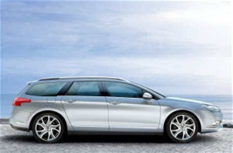 citroen c5 tourer and boot dimensions