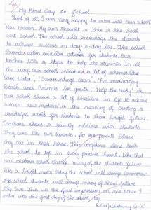 College Essay Topics 016 Essay Example First Day Of School Thatsnotus
