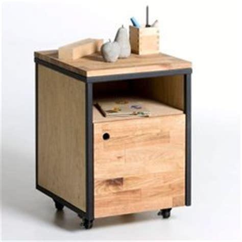 bureau bois brut caisson de bureau bois brut