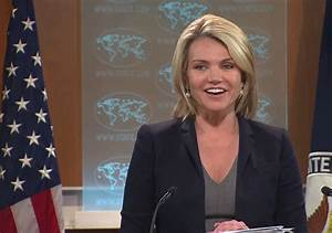 Heather Nauert Gives First Briefing as State Department ...