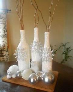 Weihnachtsdeko Für Geschäfte : die besten 25 weinflaschen dekorieren ideen auf pinterest mit tannenzapfen basteln ~ Sanjose-hotels-ca.com Haus und Dekorationen