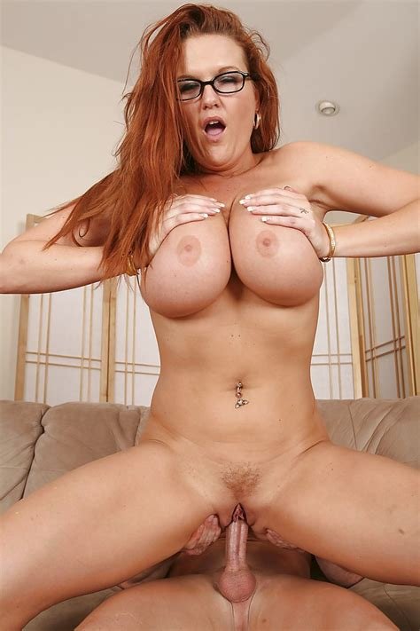 Busty Redhead Milf In Glasses Kitty Lynxxx Gets Fucked And