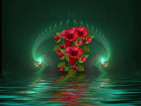 3d Flower Wallpapers by 3d Flower High Resolution Wallpapers Free