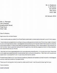 Picker packer cover letter example icoverorguk for Pick packer cover letter
