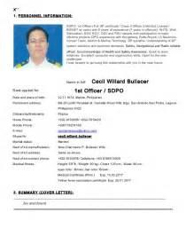 sle of resume format for engine cadet resume pdf bestsellerbookdb