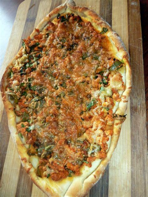 cuisine turc facile lahmajun ou lahmacun pizza turque le