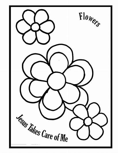 Coloring Pages Care Sunday Matthew Jesus Takes