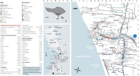 seminyak map escape bali pinterest maps  villas