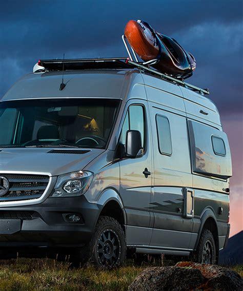 Recreational vehicles and camper vans. mercedes-benz | designboom.com