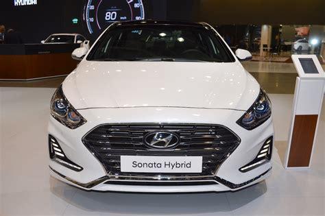 2018 Hyundai Sonata Hybrid (facelift) Front At 2017 Dubai
