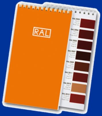 ral color chart ralcolor