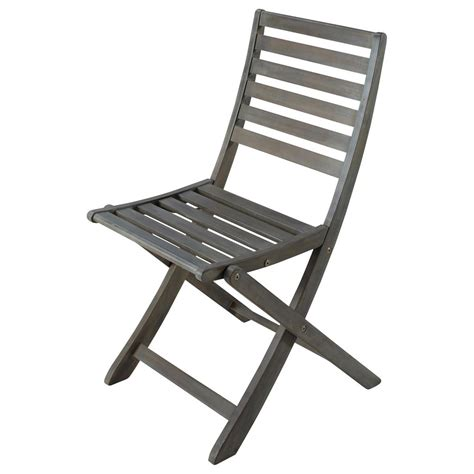 chaise cing pliante greyed acacia wood folding garden chair st malo maisons