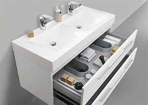 Doppelwaschbecken Mit Unterschrank Und Spiegelschrank : doppelwaschbecken set mit led spiegelschrank und ~ Watch28wear.com Haus und Dekorationen