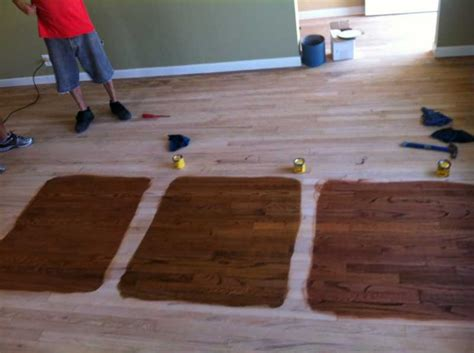 wood floor business forum topic stained red oak