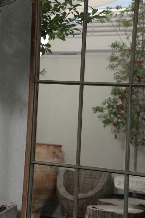 french garden window floor mirror    stdibs