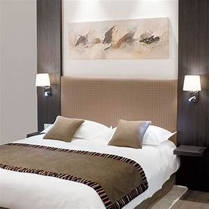 Tete De Lit Avec Tablette : tete de lit avec eclairage tete lit eclairage sur ~ Teatrodelosmanantiales.com Idées de Décoration