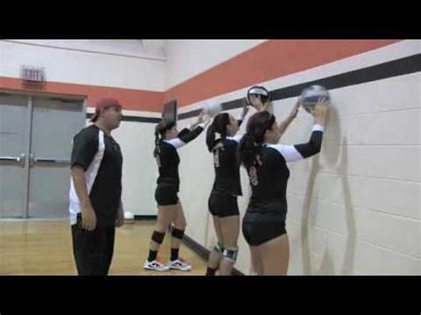 volleyball drills    home video examples