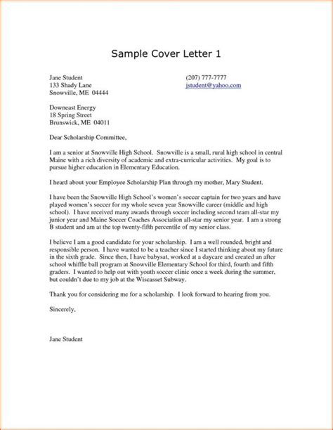 Higher Education Cover Letter Sle by 30 Cover Letters For Resumes Cover Letters For Resumes