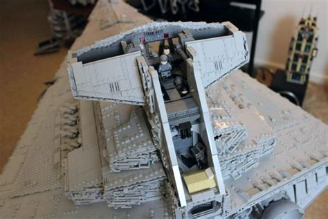 20 000 plus pieces lego destroyer has interior that will your mind mikeshouts