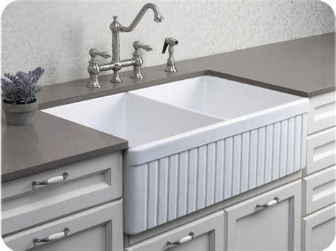 farm sink with drainboard elegant ceramic double bowl farmhouse sink for kitchen