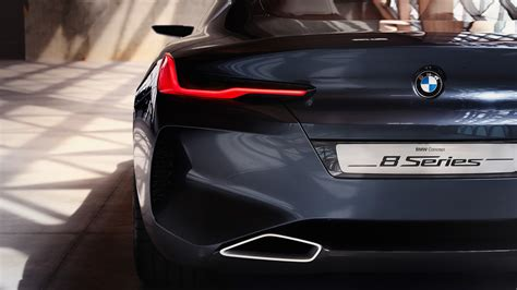Bmw 8 Series Coupe 4k Wallpapers by Bmw Concept 8 Series Rear Wallpaper Hd Car Wallpapers
