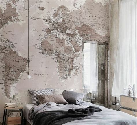 papiers peints pour chambre adulte la chambre vintage 60 idées déco très créatives