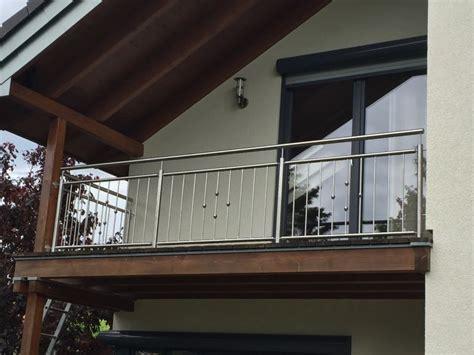 metallbau kliewer balkongelaender edelstahl