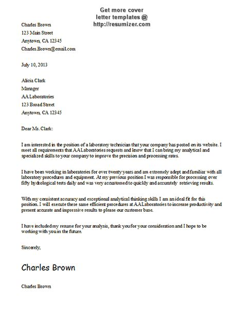 Free Business Cover Letter Templates by Cover Letter Templates Free Cover Letter Template